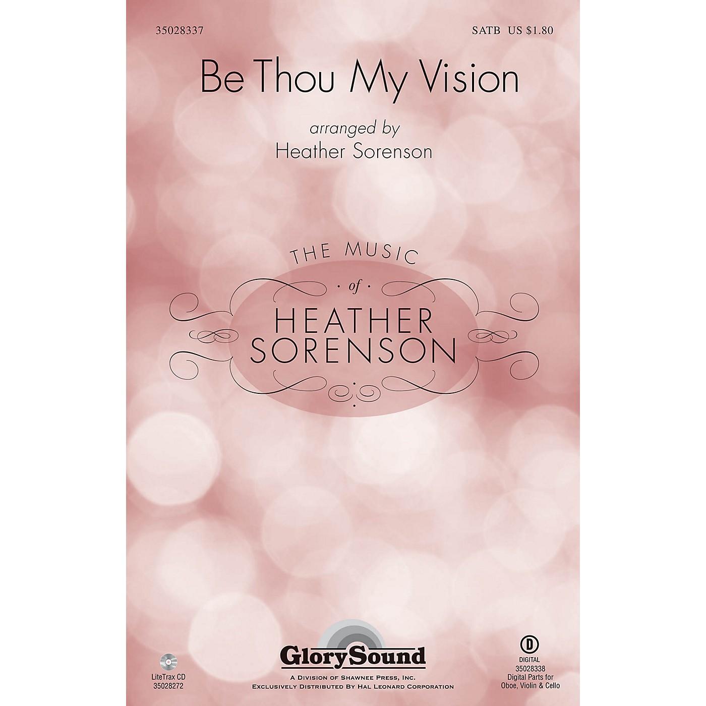 Shawnee Press Be Thou My Vision SATB arranged by Heather Sorenson thumbnail