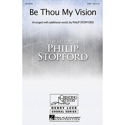 Hal Leonard Be Thou My Vision SATB arranged by Philip Stopford thumbnail
