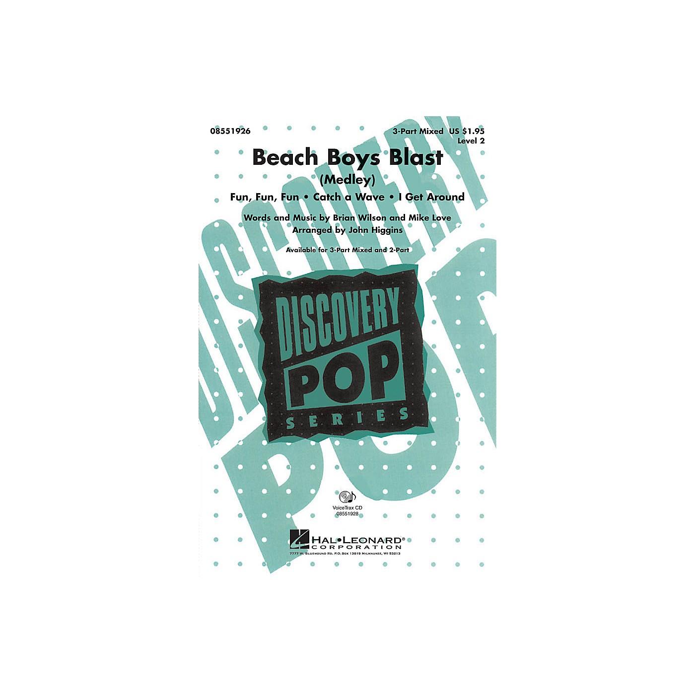 Hal Leonard Beach Boys Blast (Medley) 2-Part by Beach Boys Arranged by John Higgins thumbnail
