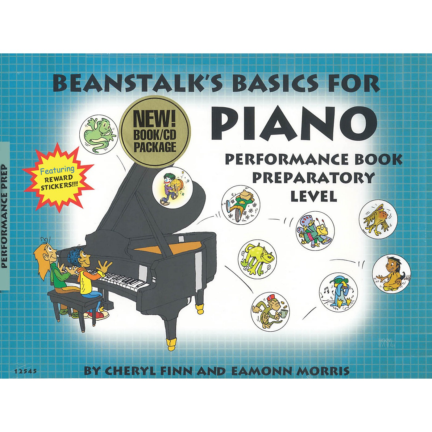 Willis Music Beanstalk's Basics for Piano - Performance Books Willis Series Softcover with CD Written by Cheryl Finn thumbnail