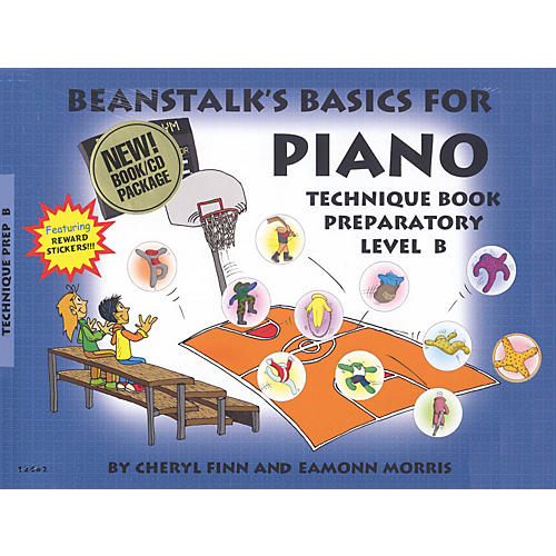 Willis Music Beanstalk's Basics for Piano - Technique Books Willis Series Softcover with CD Written by Cheryl Finn thumbnail