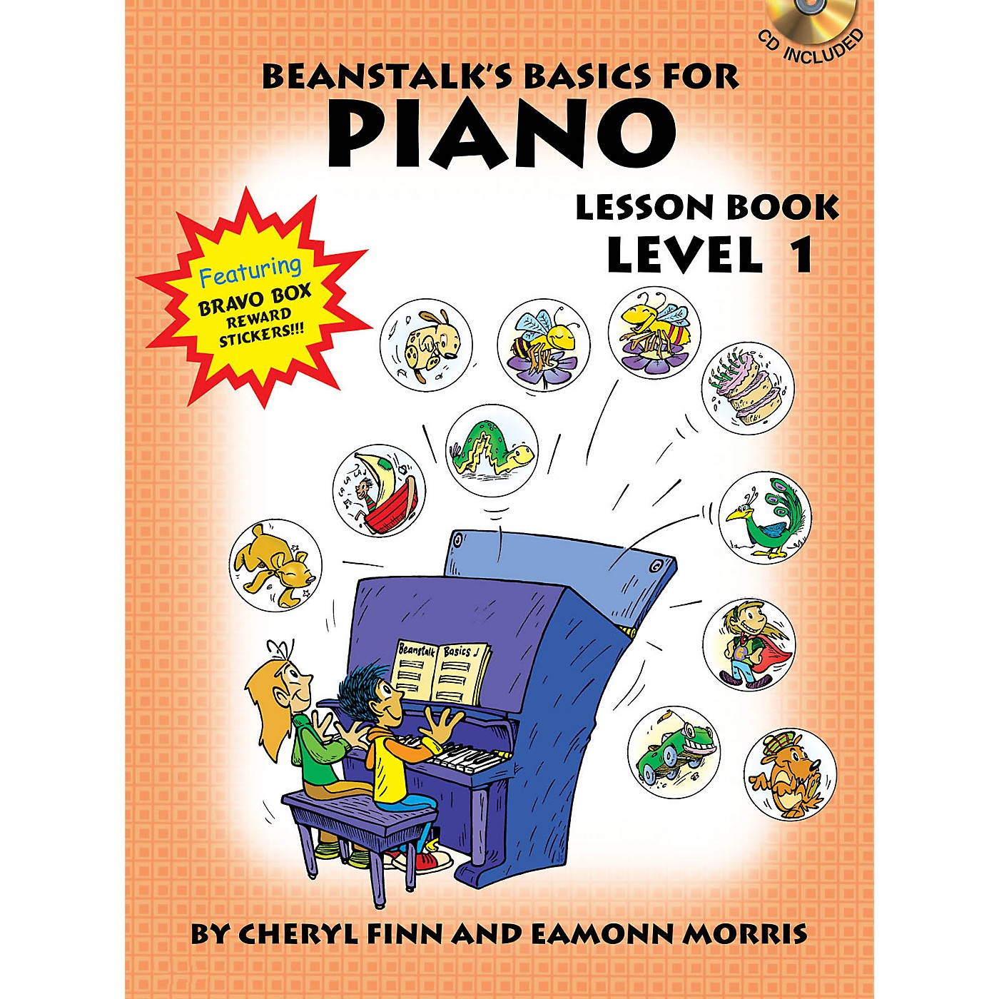 Willis Music Beanstalk's Basics for Piano (Lesson Book Level 1) Willis Series Softcover with CD Written by Cheryl Finn thumbnail