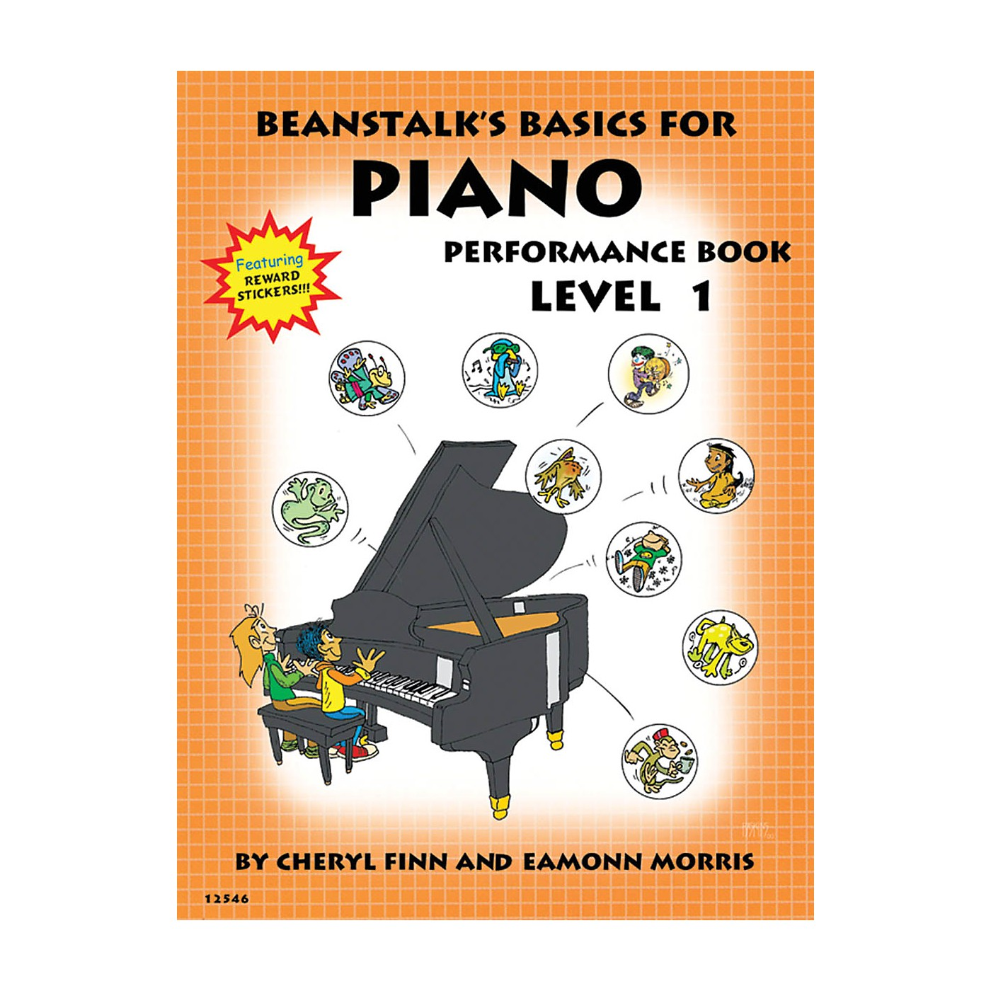 Willis Music Beanstalk's Basics for Piano (Performance Book Book 1) Willis Series Written by Cheryl Finn thumbnail