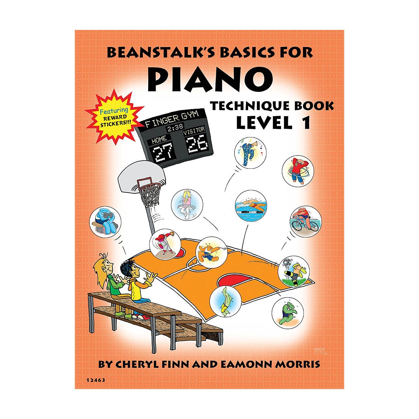 Willis Music Beanstalk's Basics for Piano (Technique Book Book 1) Willis Series Written by Cheryl Finn thumbnail