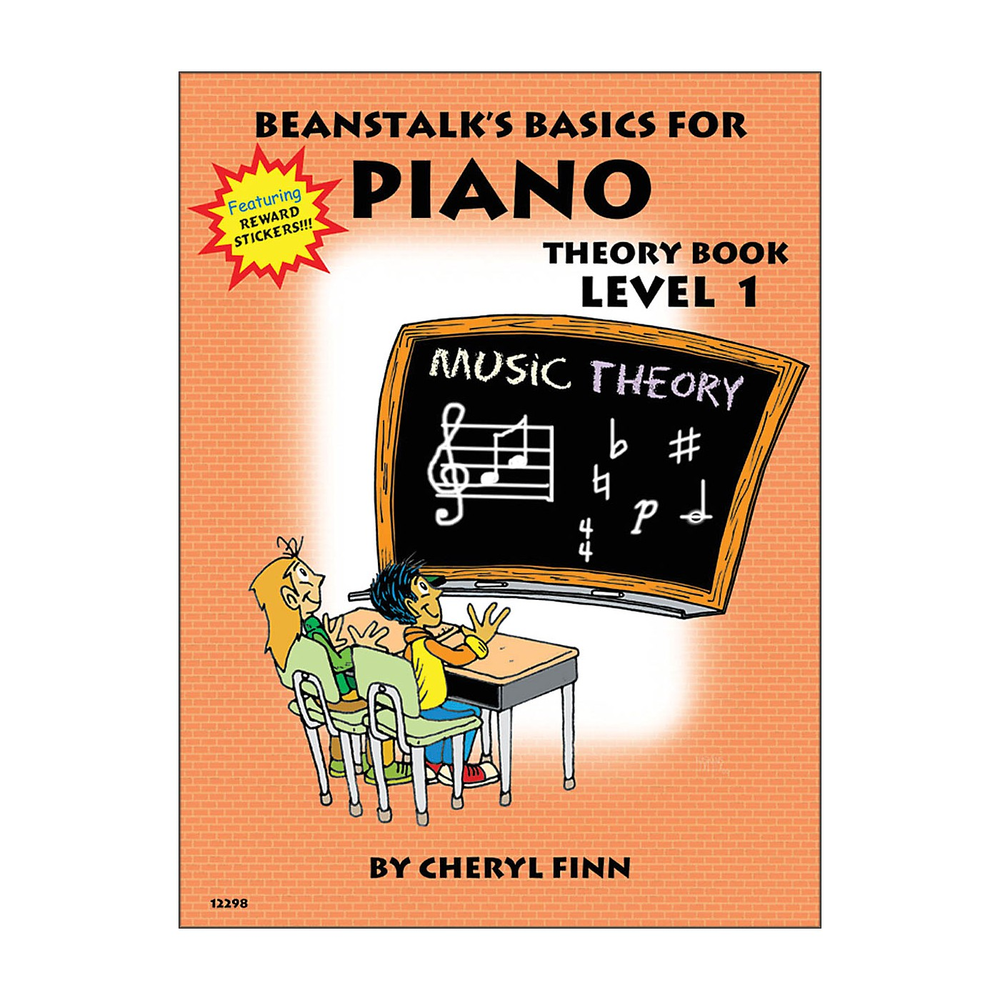 Willis Music Beanstalk's Basics for Piano Theory Book Level 1 thumbnail