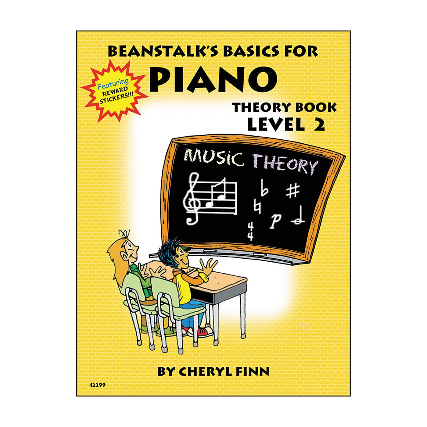 Willis Music Beanstalk's Basics for Piano Theory Book Level 2 thumbnail