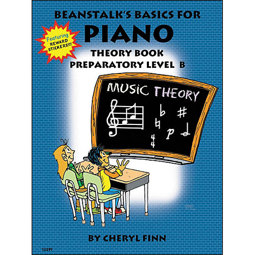 Willis Music Beanstalk's Basics for Piano Theory Book Preparatory Level B by Cheryl Finn thumbnail