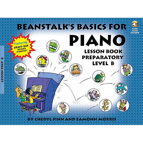 Willis Music Beanstalk's Basics for Piano Willis Series Softcover with CD Written by Cheryl Finn thumbnail