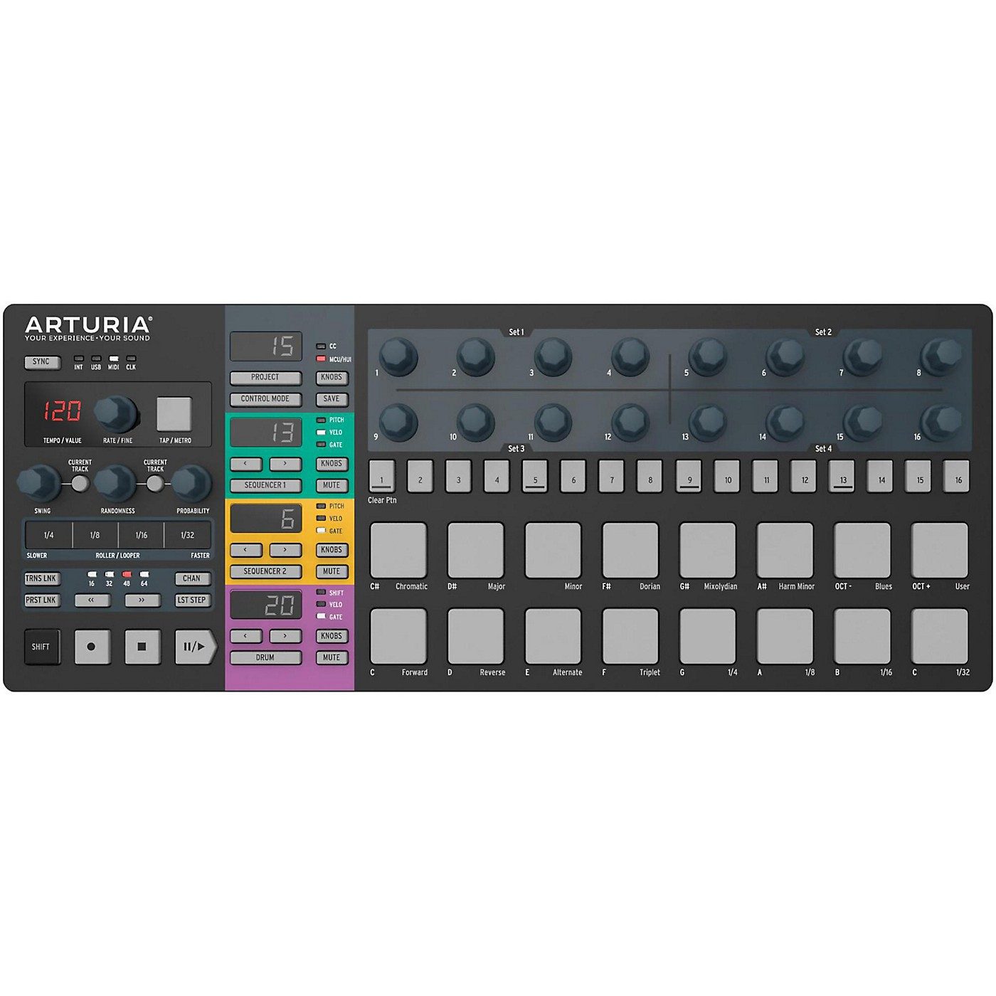 Arturia BeatStep Pro Black Edition thumbnail