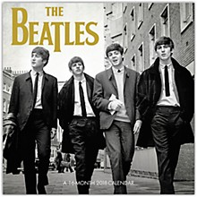 Browntrout Publishing Beatles 2018 Wall Calendar