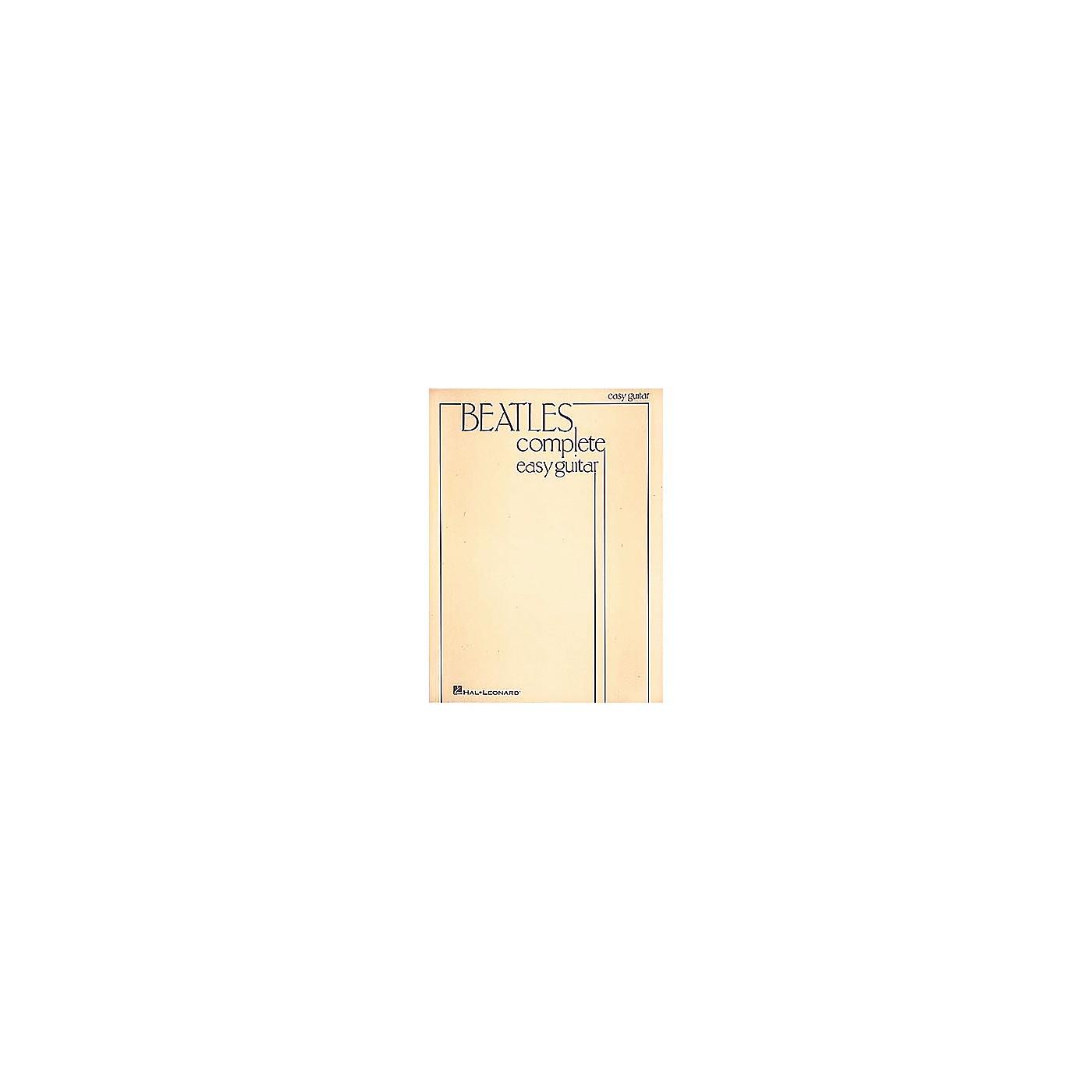 Hal Leonard Beatles Complete Easy Guitar Songbook thumbnail