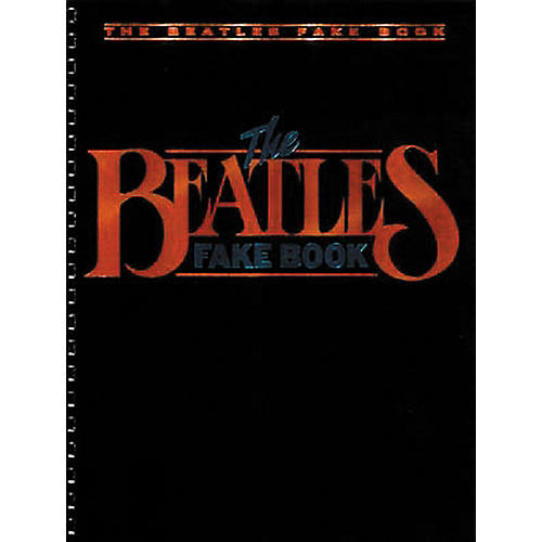 Hal Leonard Beatles Fake Book thumbnail