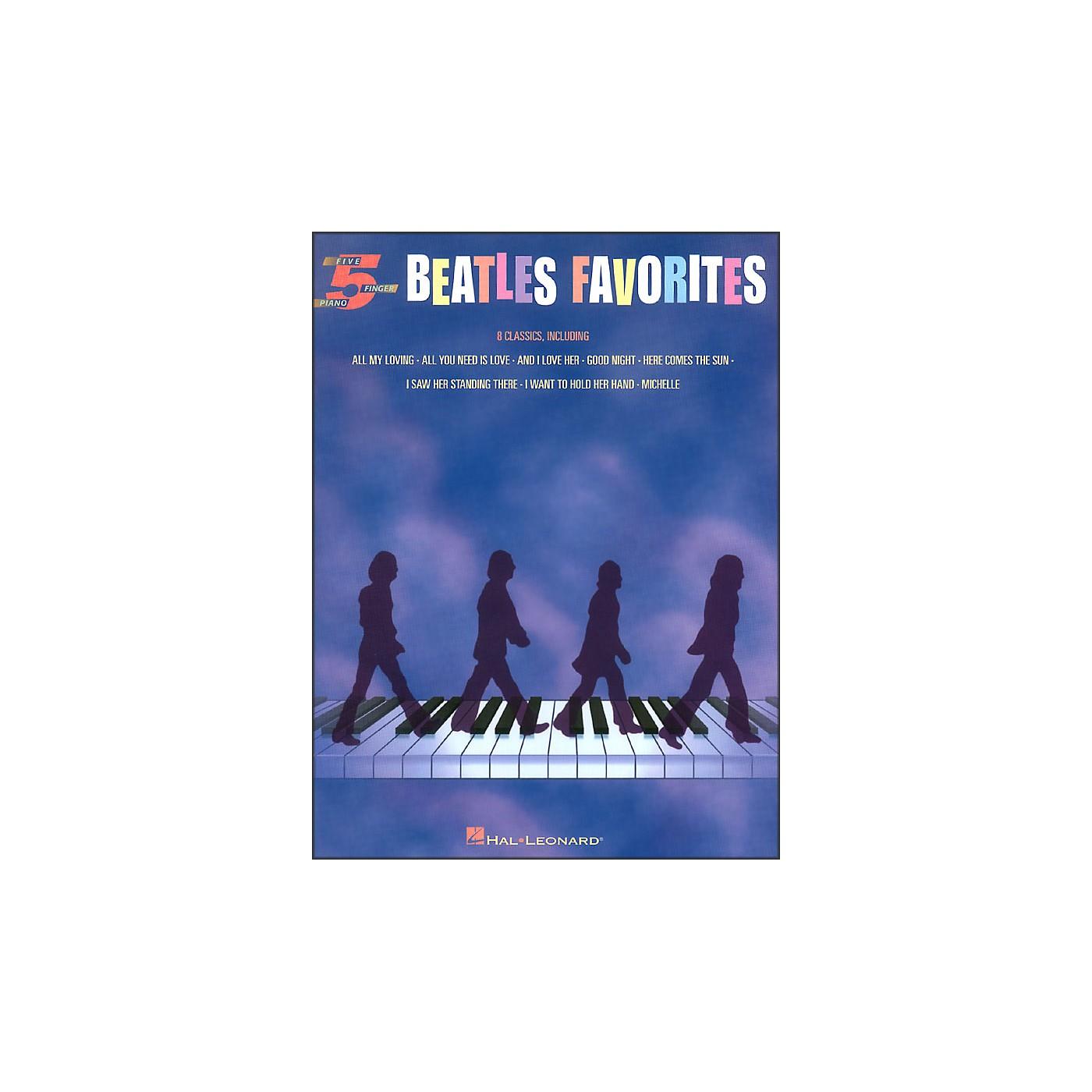 Hal Leonard Beatles Favorites for Five Finger Piano thumbnail