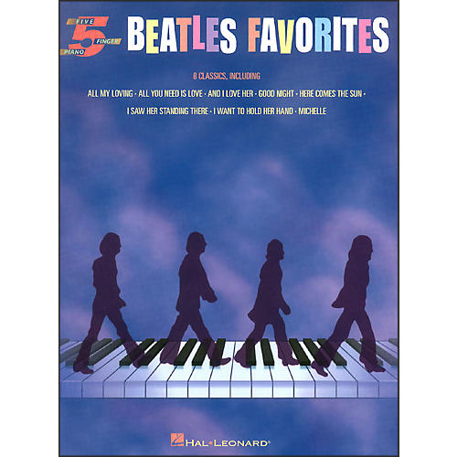 Hal Leonard Beatles Favorites for Five Finger Piano thumbnail