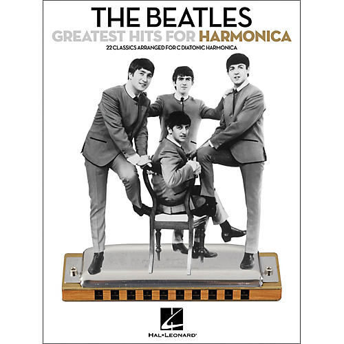 Hal Leonard Beatles Greatest Hits Harmonica thumbnail