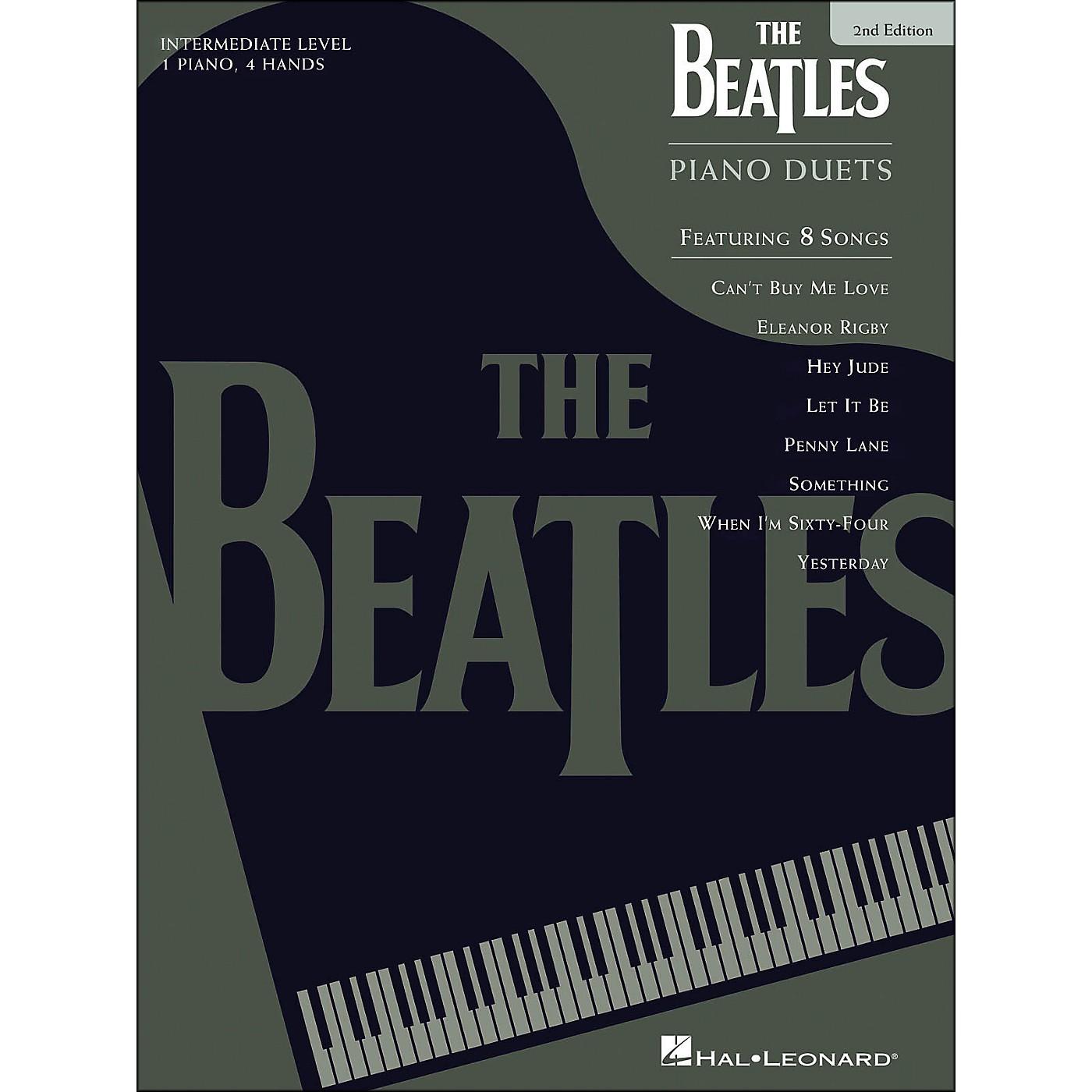 Hal Leonard Beatles Piano Duets 2nd Edition thumbnail