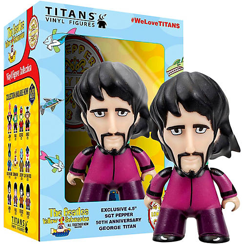 Entertainment Earth Beatles Sgt. Pepper's George 4 1/2-Inch Vinyl Figure thumbnail