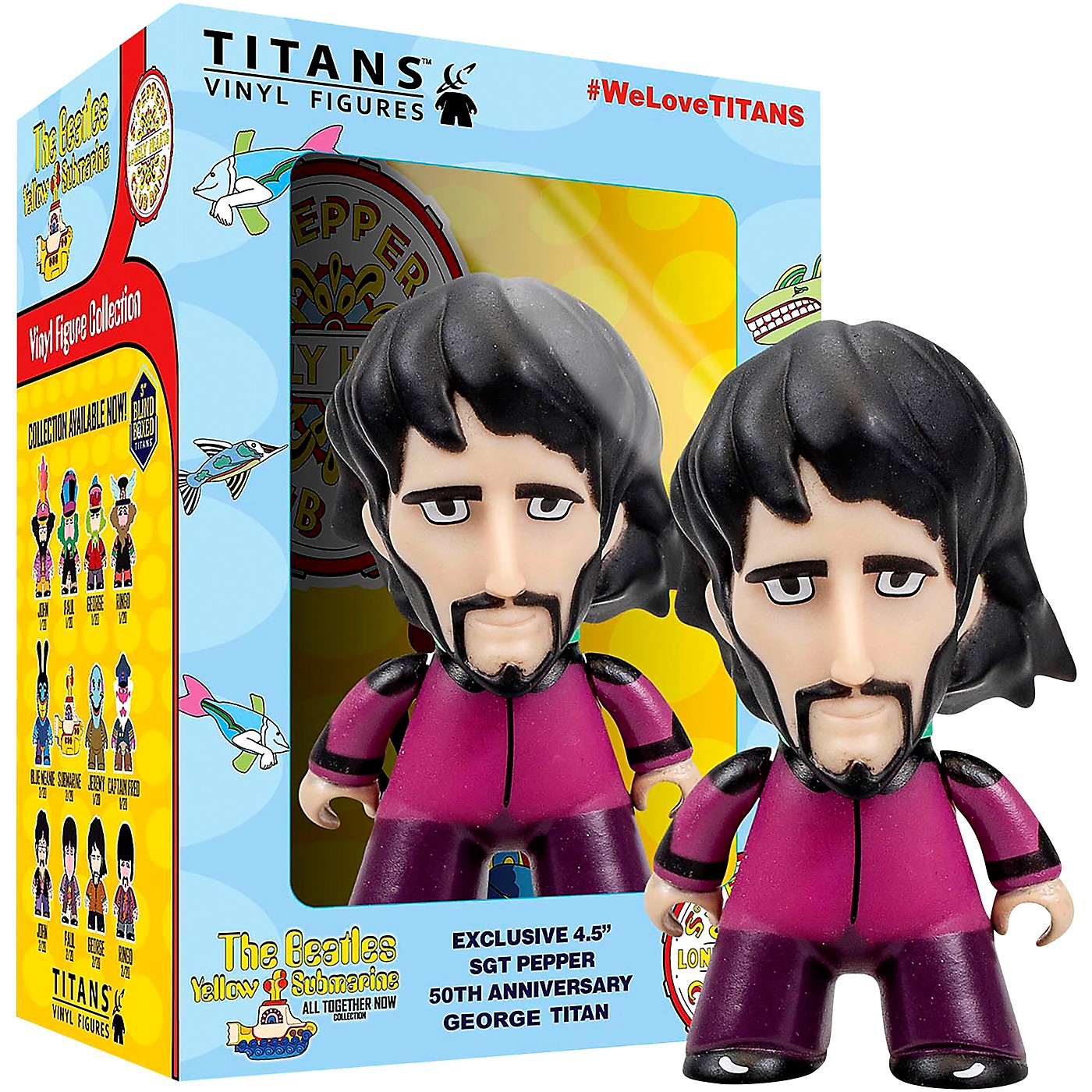 Entertainment Earth Beatles Sgt. Pepper's George 4 1/2