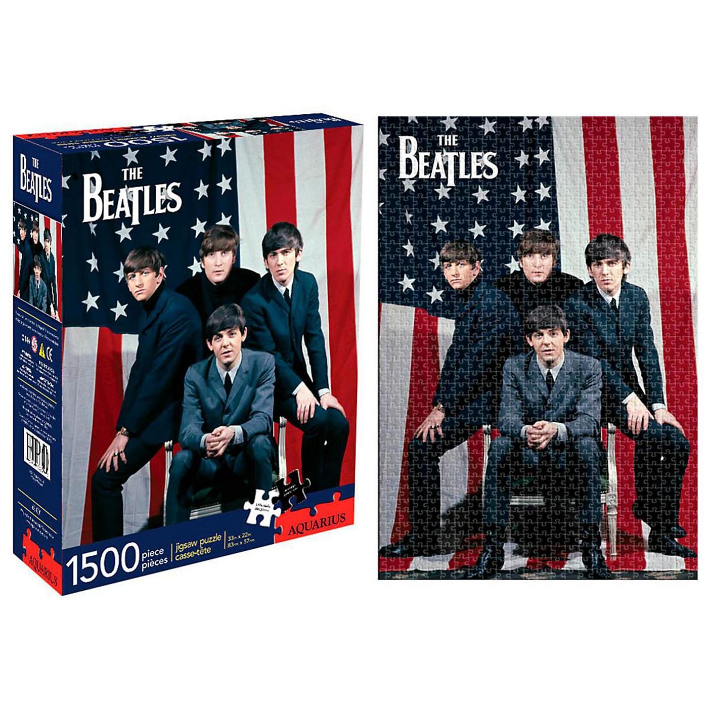 Hal Leonard Beatles USA 1,500 Piece Puzzle thumbnail