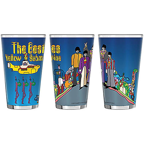 Boelter Brands Beatles Yellow Submarine Hill Sublimated Pint thumbnail