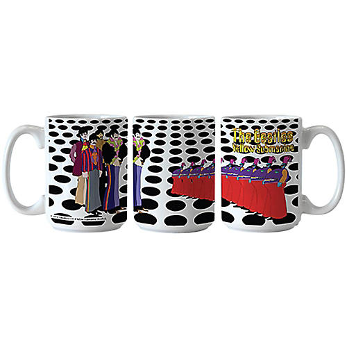 Boelter Brands Beatles Yellow Submarine Holes Scuplted Mug thumbnail