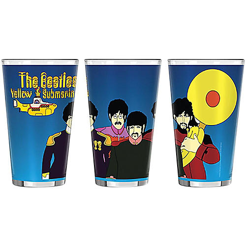 Boelter Brands Beatles Yellow Submarine Musicians Sublimated Pint thumbnail