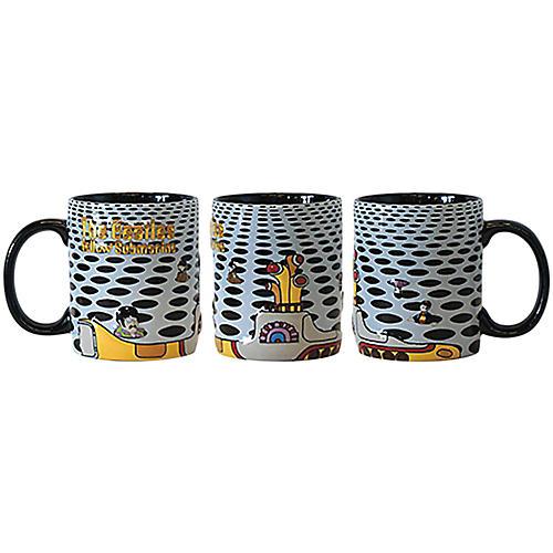 Boelter Brands Beatles Yellow Submarine Sea of Holes Scuplted Mug thumbnail