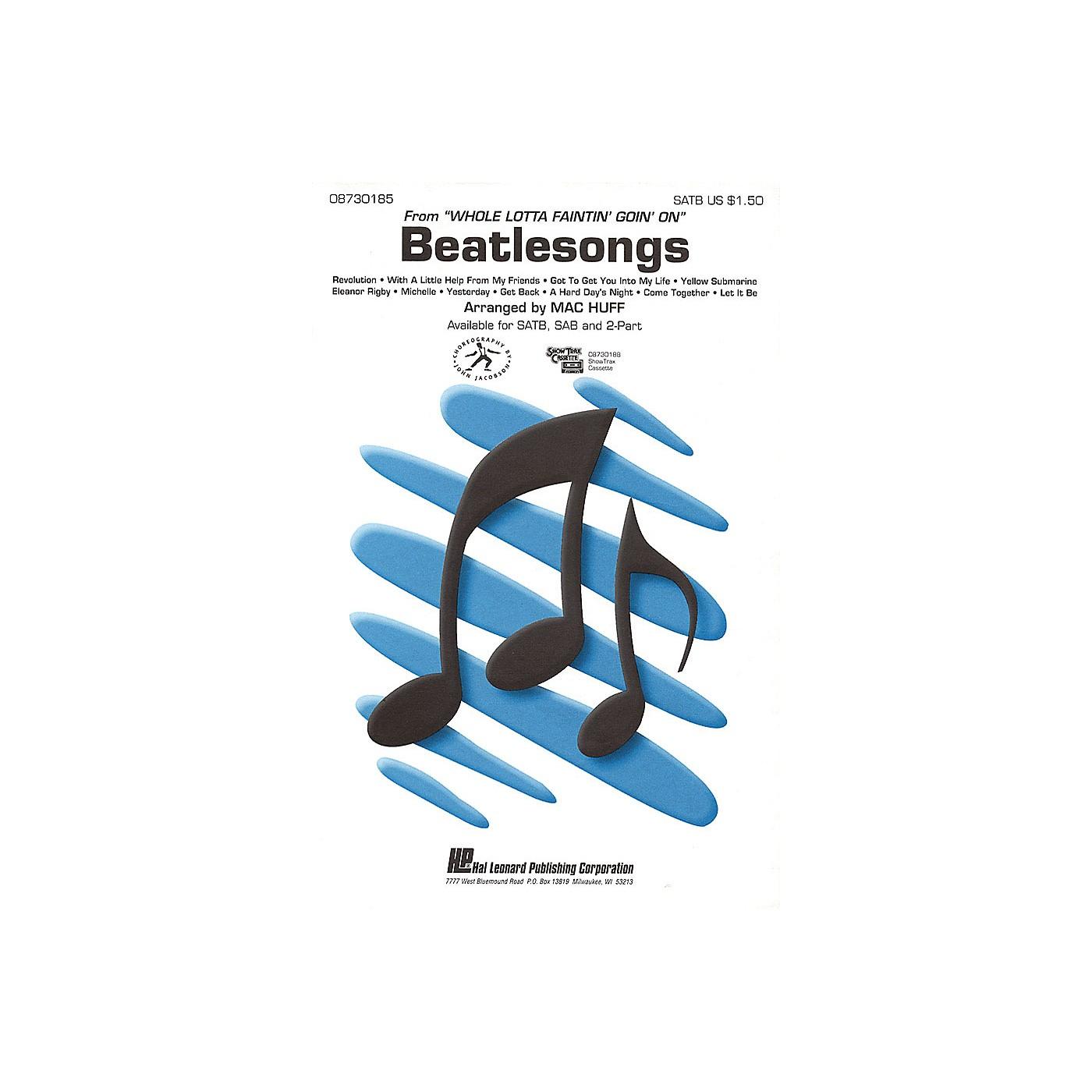 Hal Leonard Beatlesongs (Medley) SATB arranged by Mac Huff thumbnail
