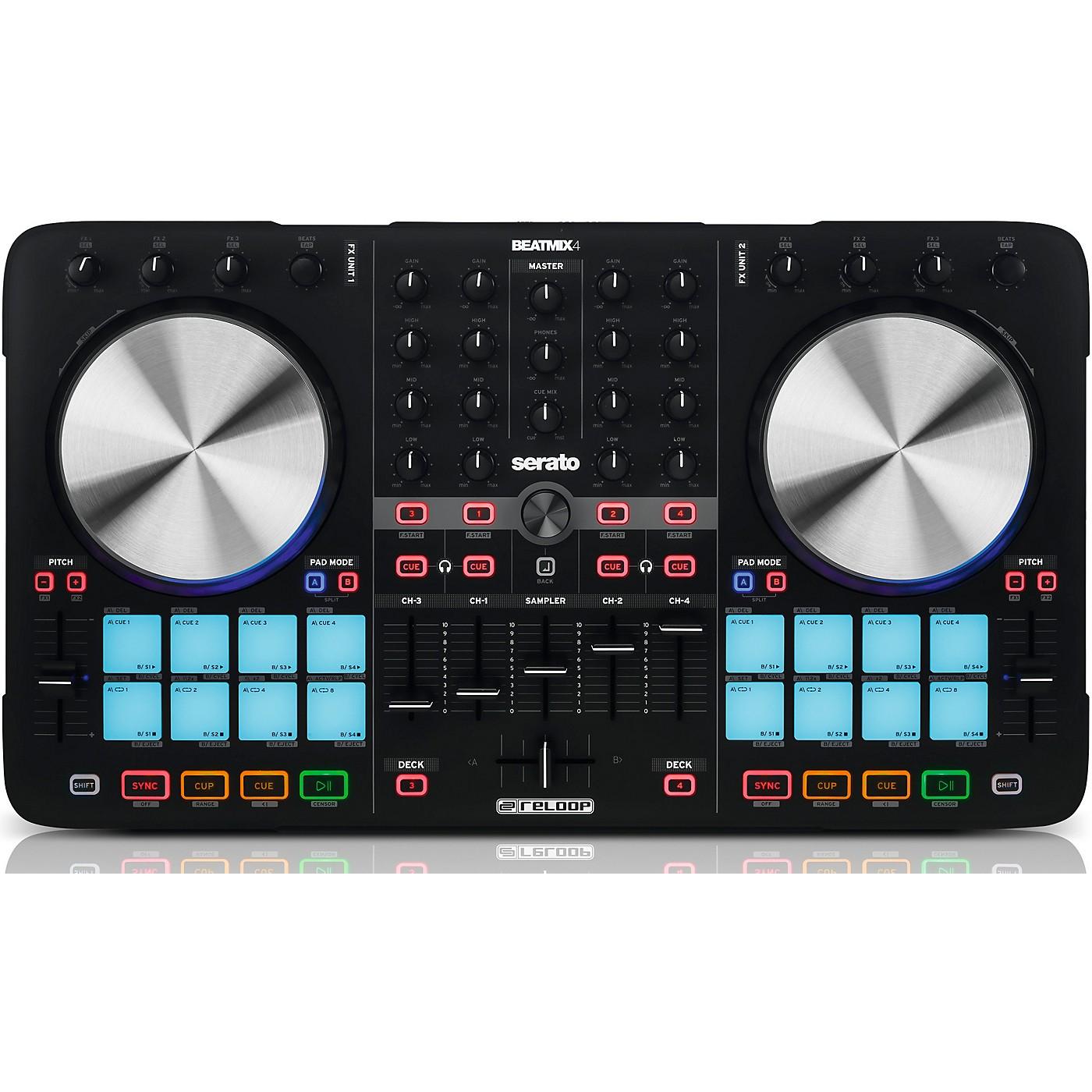 Reloop Beatmix 4 MK2 DJ Controller thumbnail
