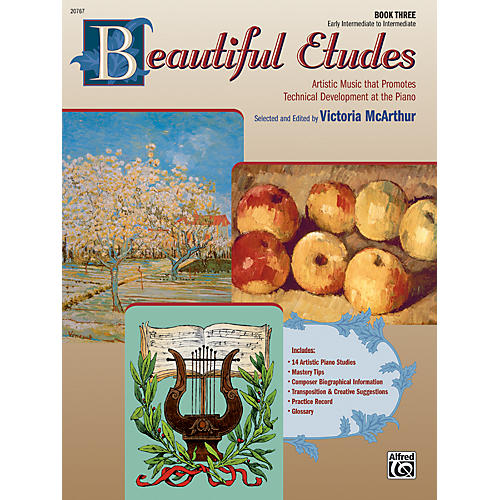 Alfred Beautiful Etudes Book 3 thumbnail