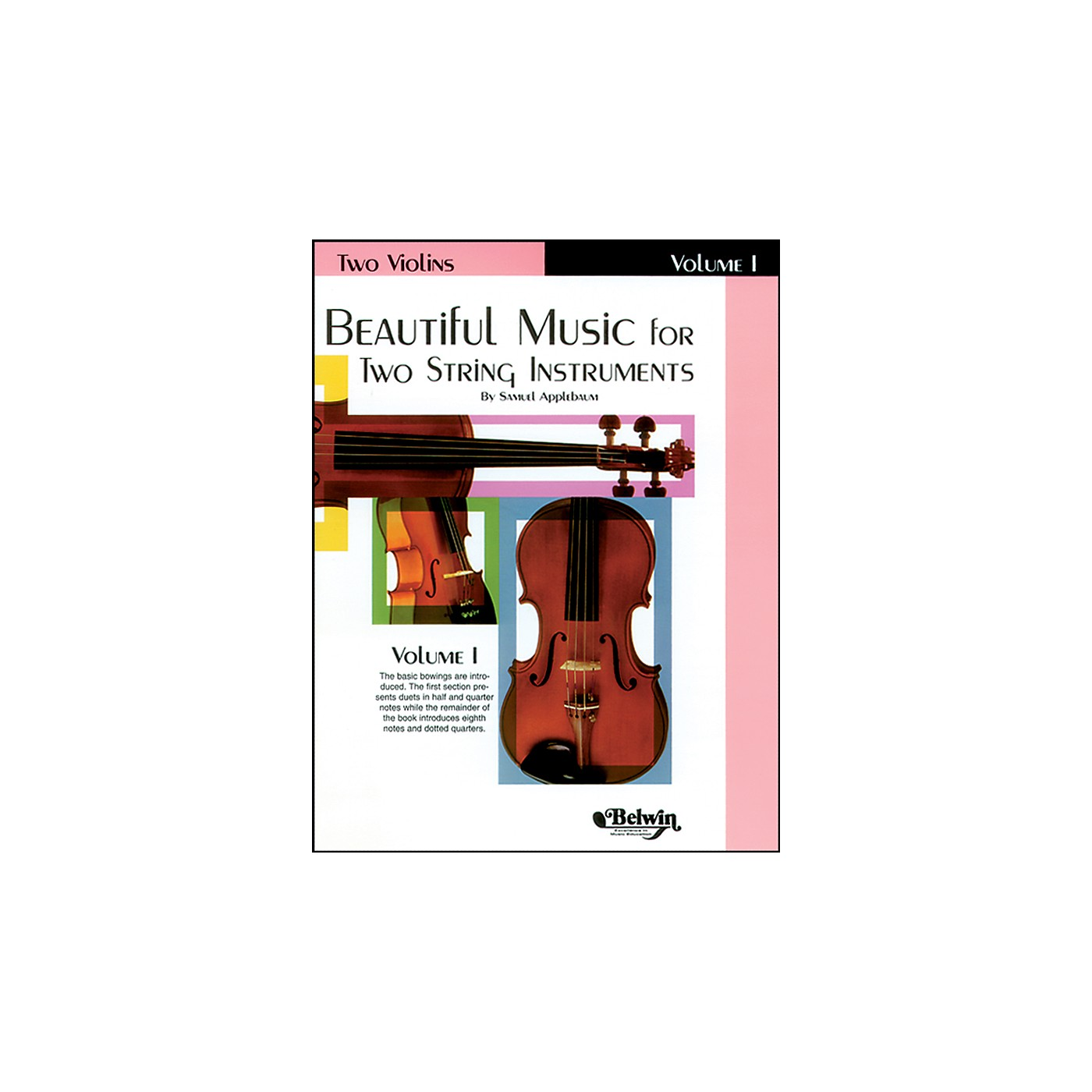 Alfred Beautiful Music for Two String Instruments, Book I thumbnail