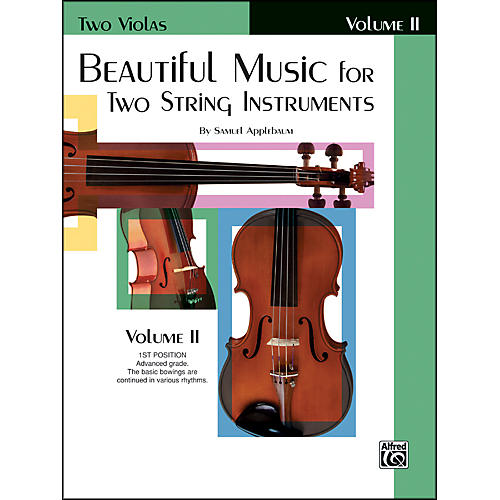 Alfred Beautiful Music for Two String Instruments Book II 2 Violas thumbnail