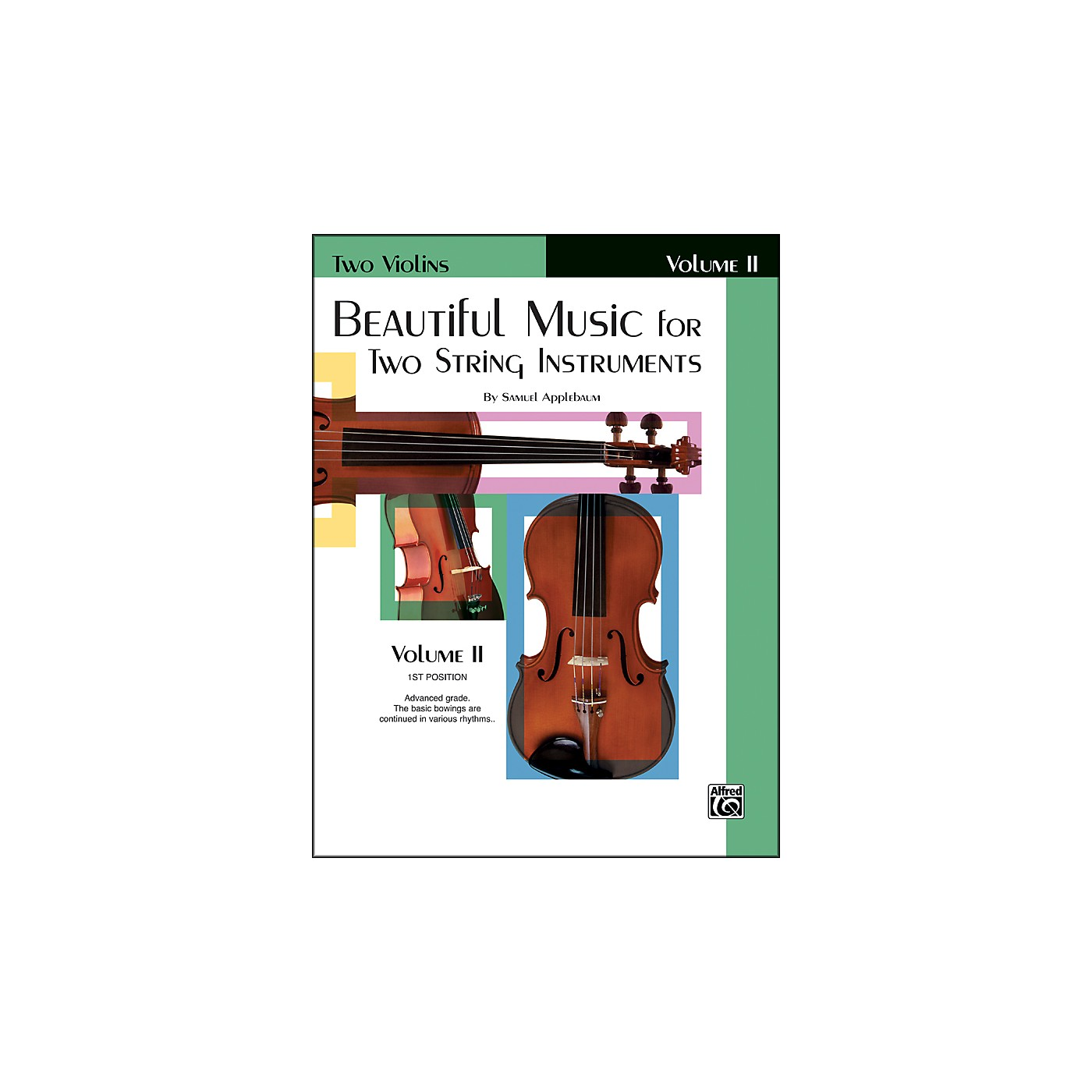 Alfred Beautiful Music for Two String Instruments Book II 2 Violins thumbnail
