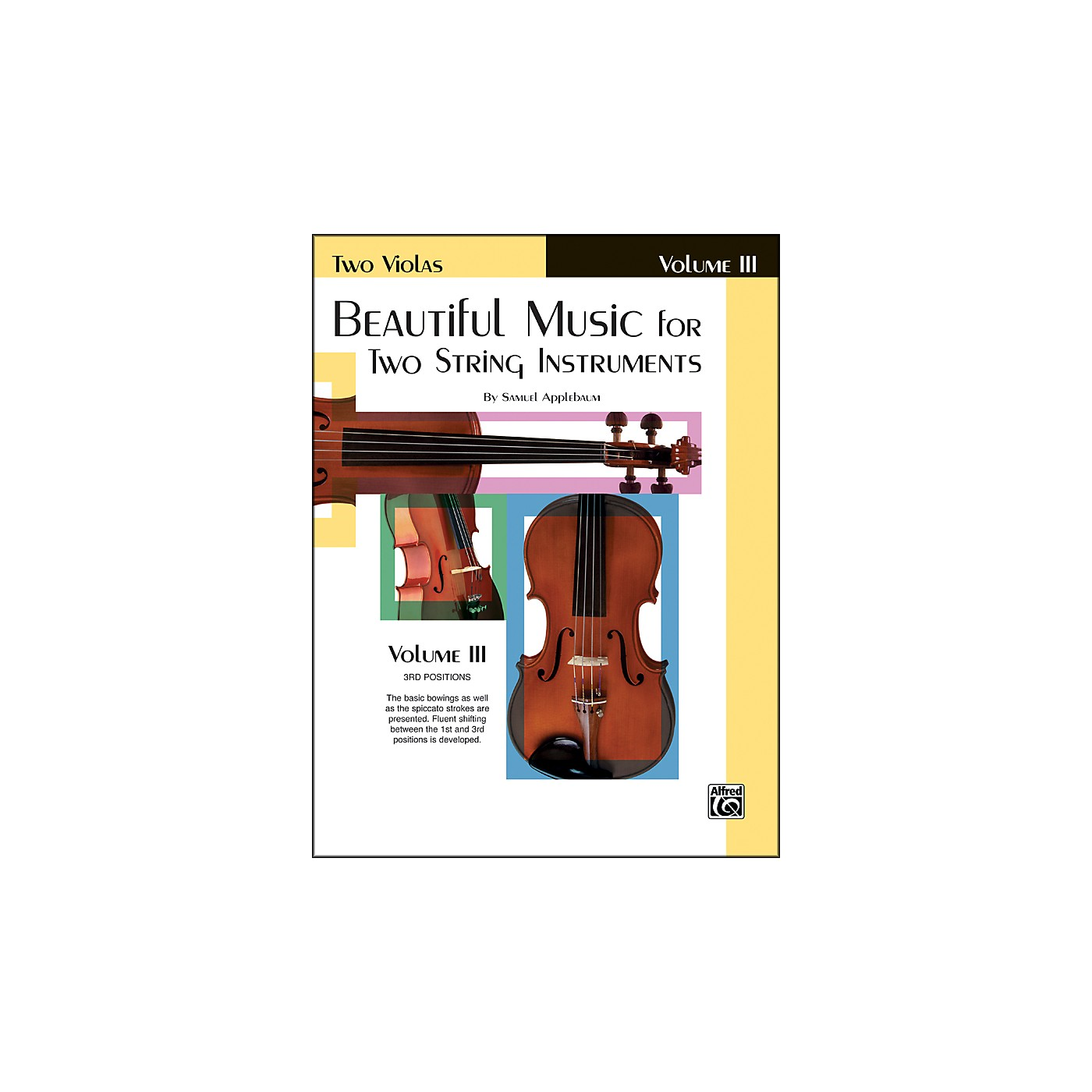 Alfred Beautiful Music for Two String Instruments Book III 2 Violas thumbnail
