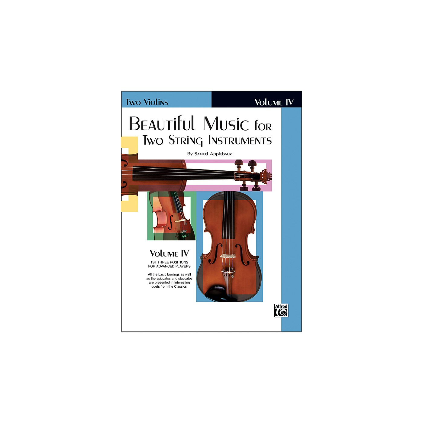 Alfred Beautiful Music for Two String Instruments Book IV 2 Violins thumbnail