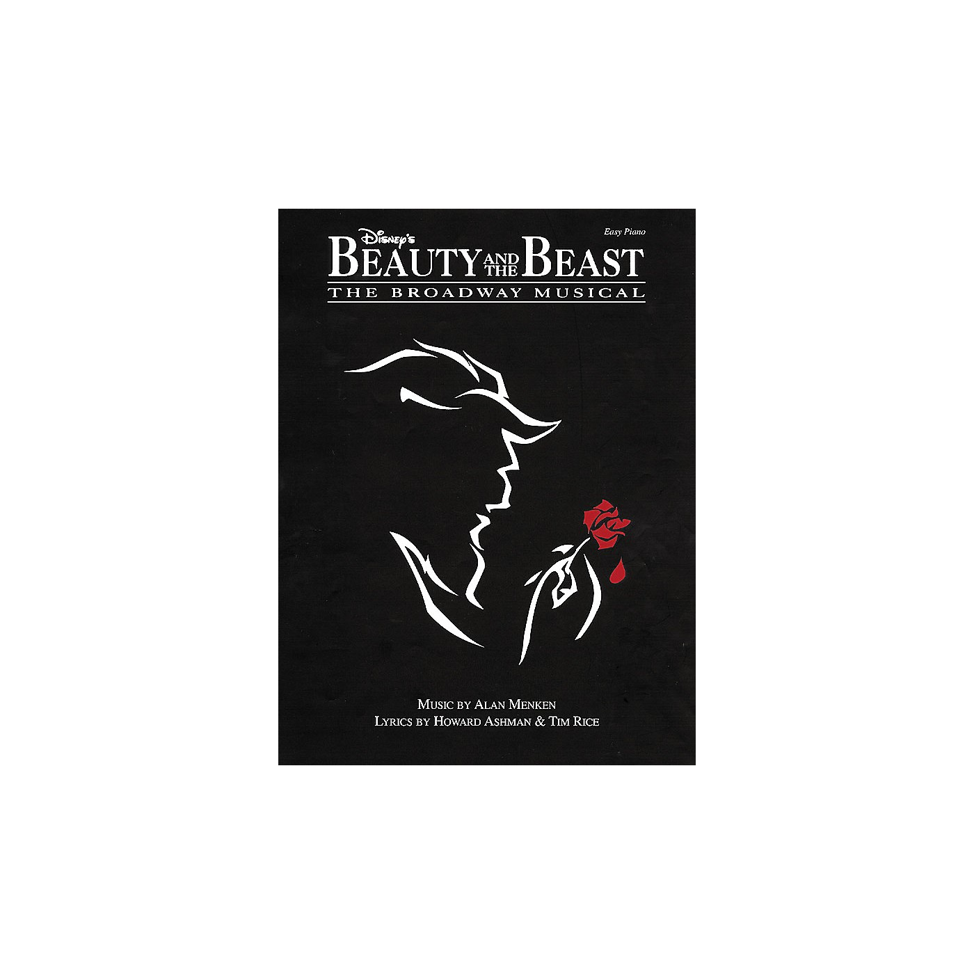 Hal Leonard Beauty & The Beast The Broadway Musical For Easy Piano thumbnail