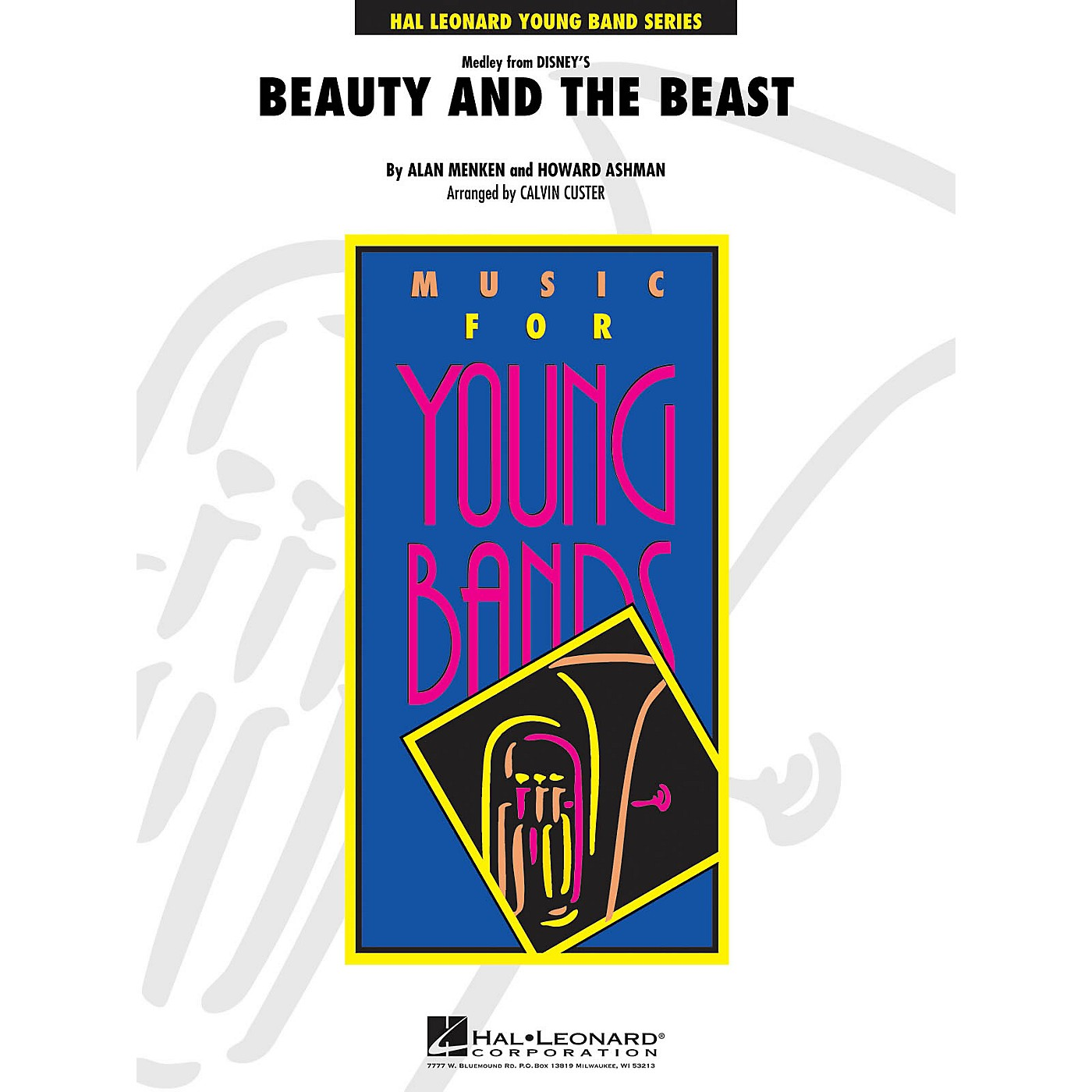 Hal Leonard Beauty and the Beast (Medley) - Young Concert Band Level 3 by Calvin Custer thumbnail