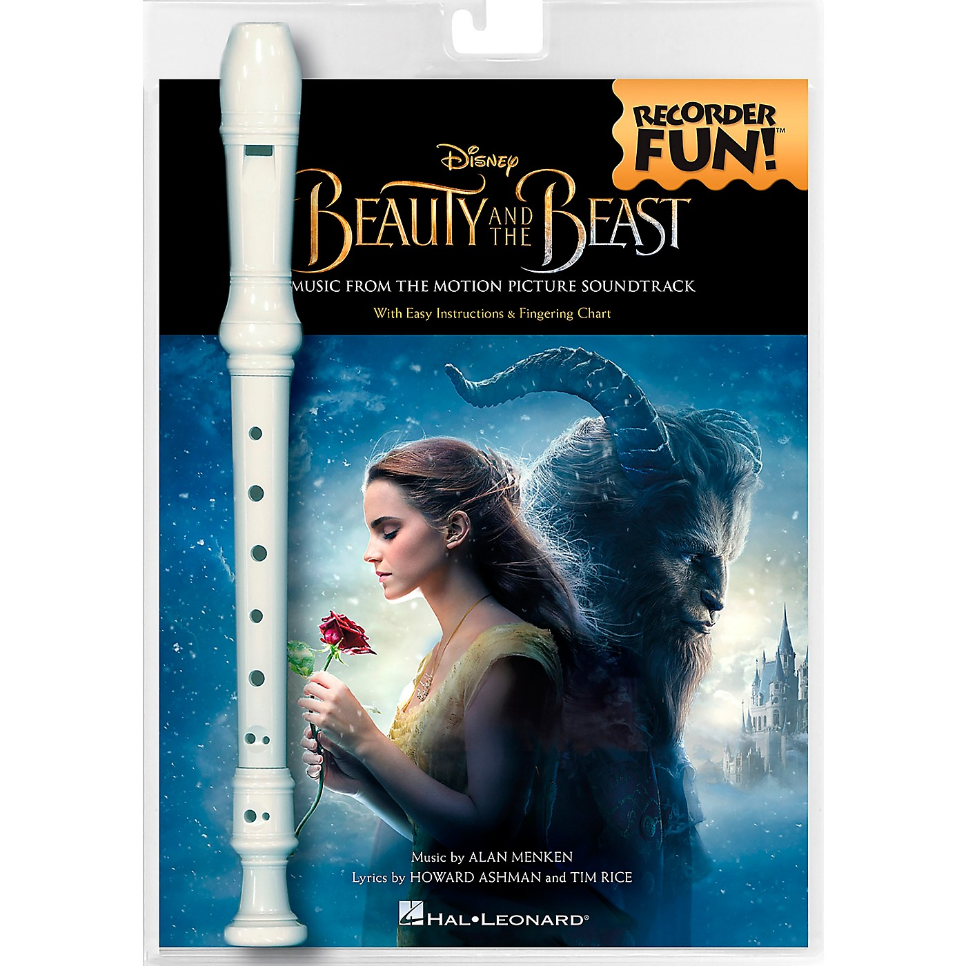 Hal Leonard Beauty and the Beast-Recorder Fun!  Pack with Songbook and Instrument thumbnail