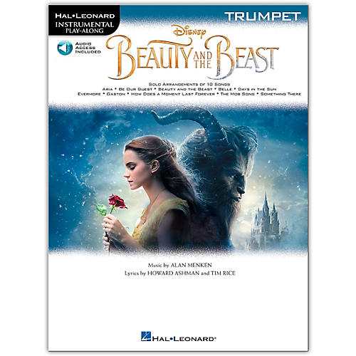 Hal Leonard Beauty and the Beast (Trumpet) Instrumental Play-Along Series Softcover Audio Online thumbnail