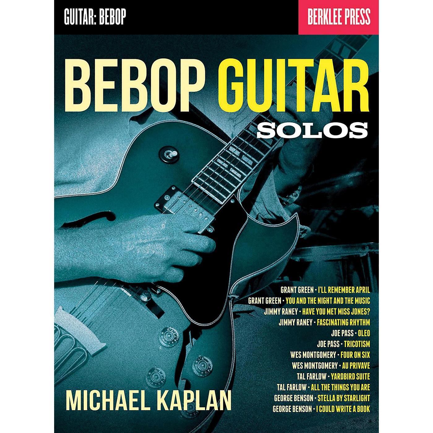 Berklee Press Bebop Guitar Solos - Berklee Press thumbnail