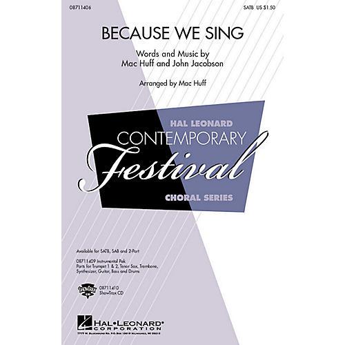 Hal Leonard Because We Sing SAB Composed by John Jacobson thumbnail