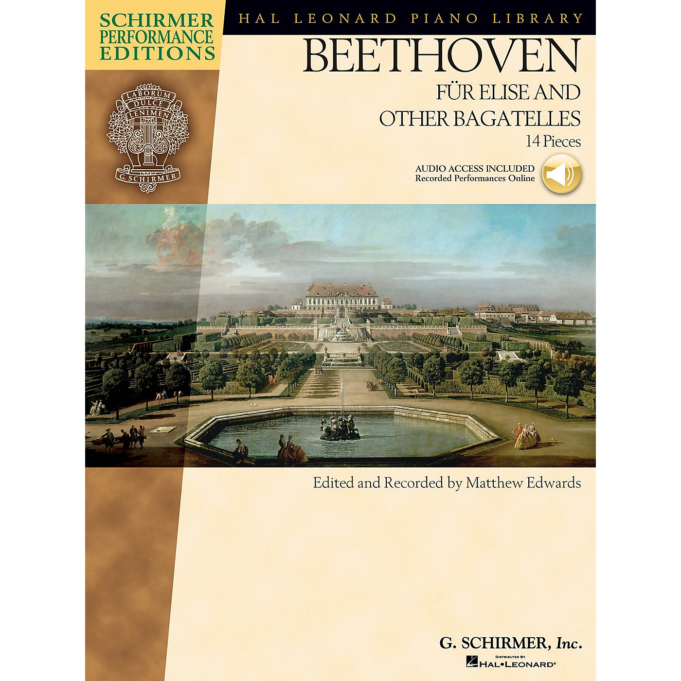 G. Schirmer Beethoven - Fur Elise and Other Bagatelles Schirmer Performance Editions Series Softcover Audio Online thumbnail