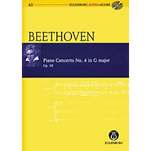 Eulenburg Beethoven - Piano Concerto No. 4, Op. 58 in G Major Study Score Softcover with CD by Ludwig van Beethoven