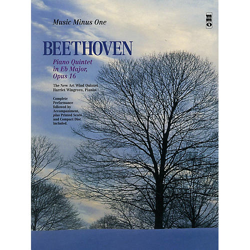 Music Minus One Beethoven -  Piano Quintet in E-flat Major, Op. 16 Music Minus BK/CD by Ludwig van Beethoven thumbnail
