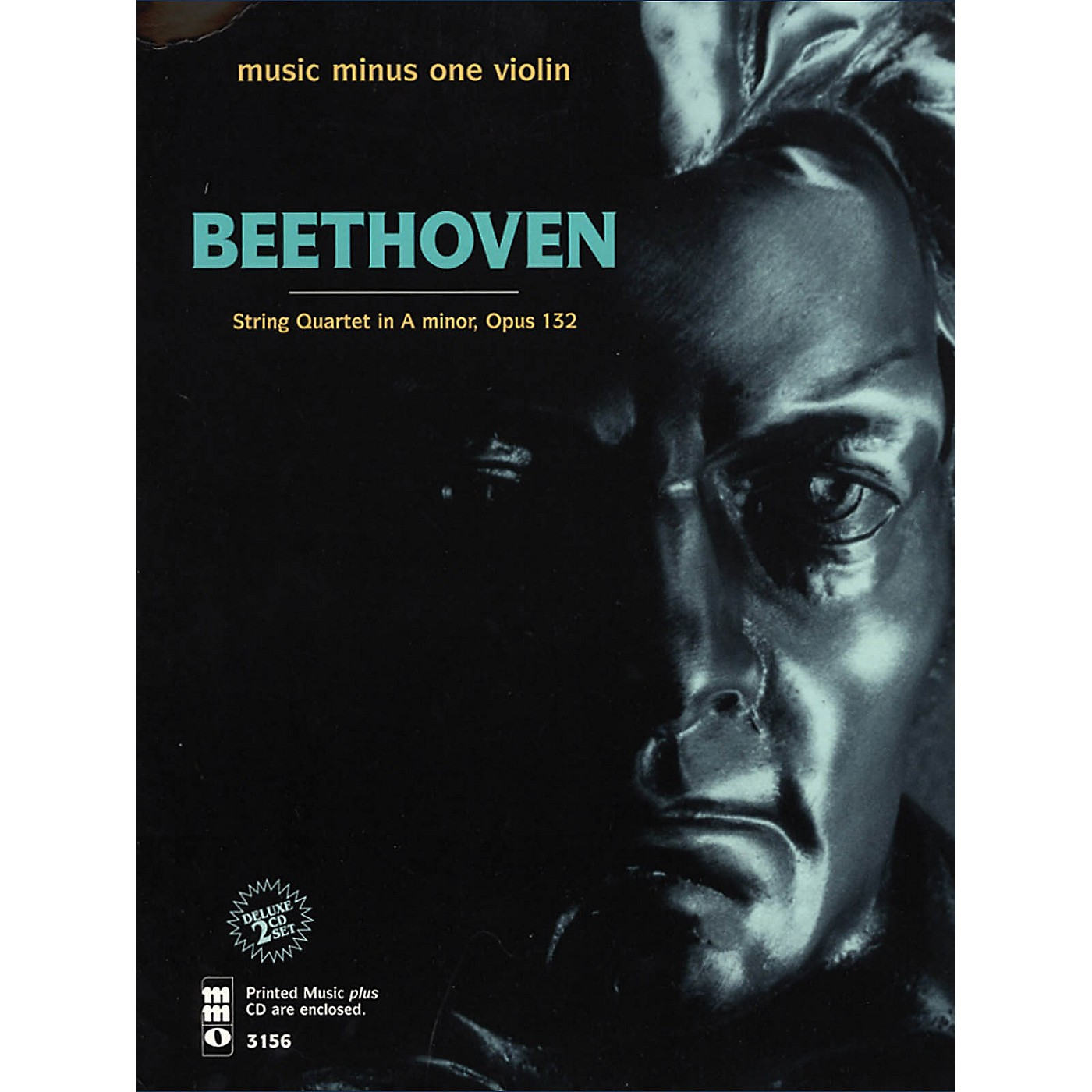 Music Minus One Beethoven - String Quartet in A Minor, Op. 132 Music Minus One Softcover with CD by Vieuxtemps String Quartet thumbnail