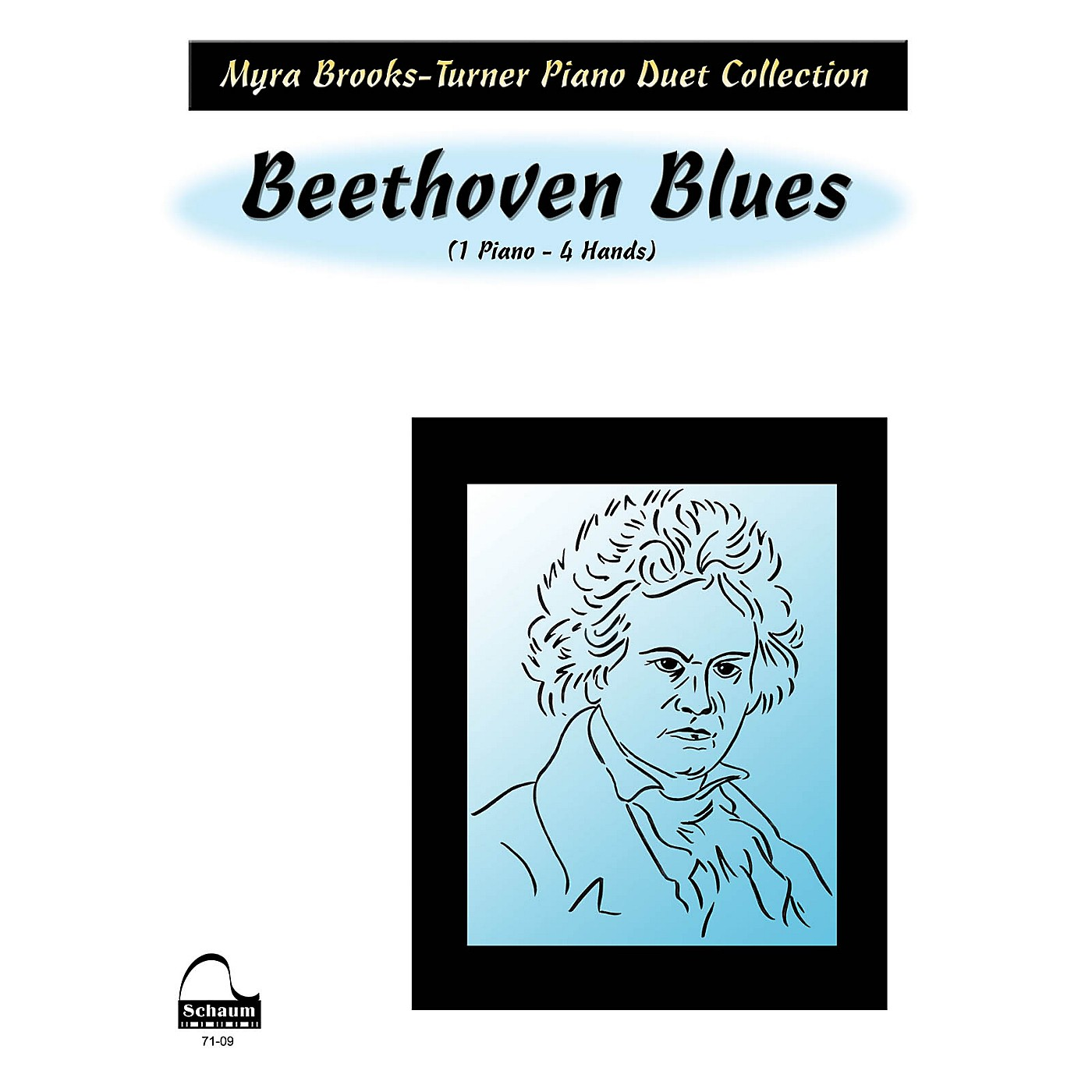 SCHAUM Beethoven Blues (duet) Educational Piano Series Softcover thumbnail
