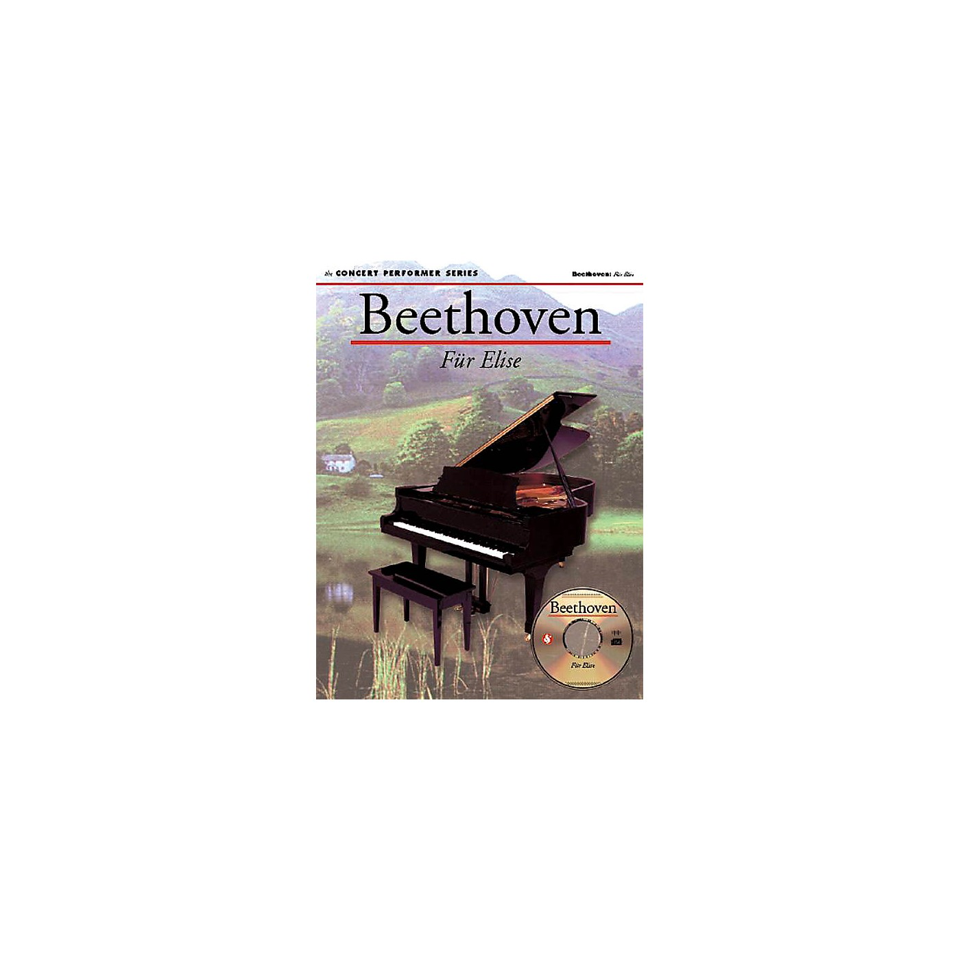Music Sales Beethoven: Für Elise (Concert Performer Series) Music Sales America Series Softcover with disk thumbnail