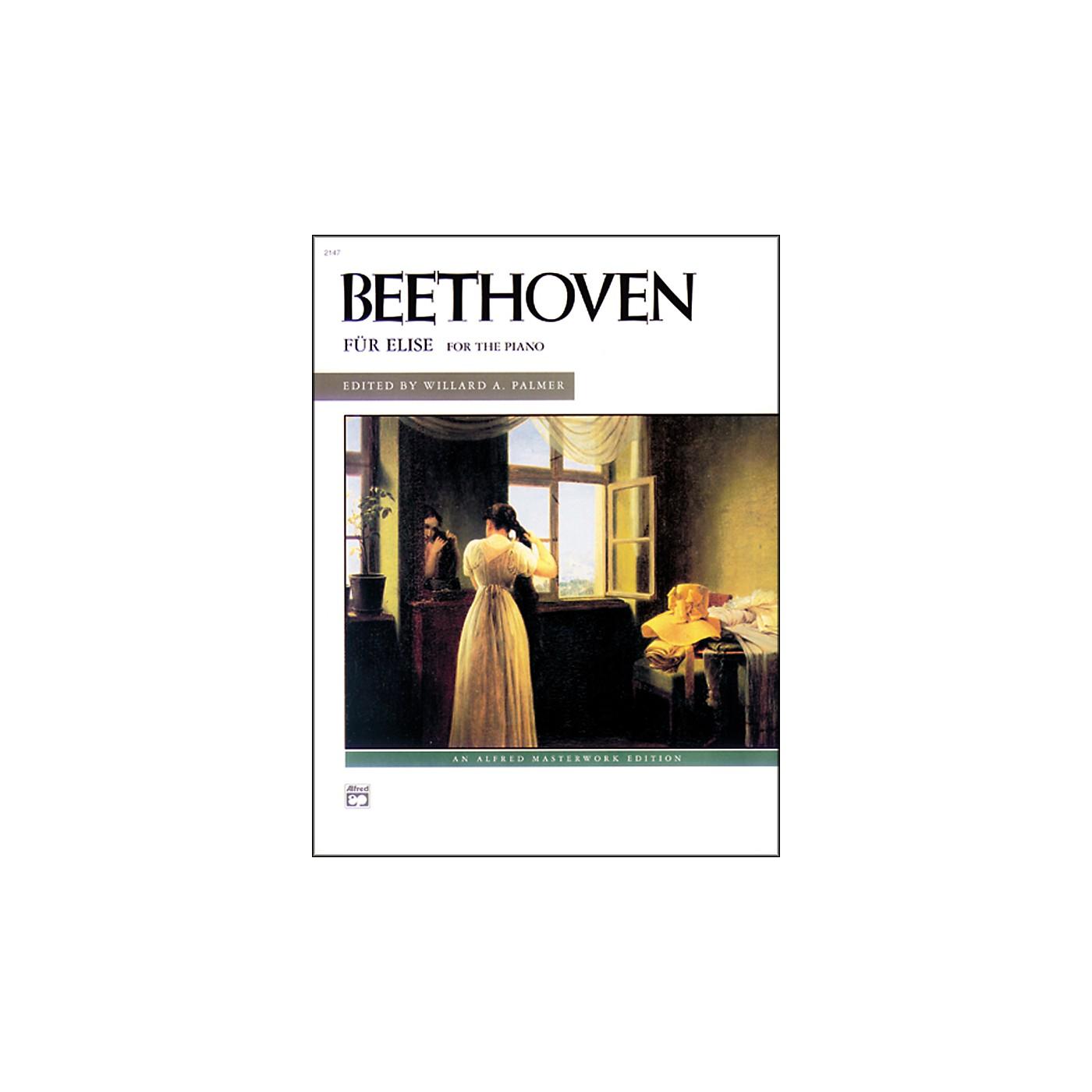 Alfred Beethoven Fur Elise Late Intermediate Piano Solo thumbnail