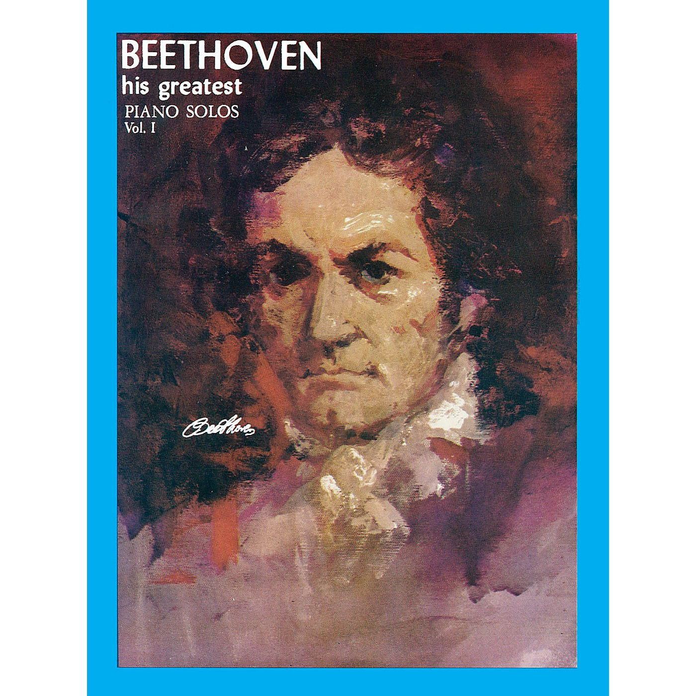 Ashley Publications Inc. Beethoven His Greatest Piano Solo Volume 1 His Greatest (Ashley) Series thumbnail