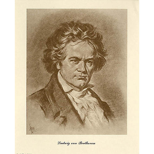 Music Sales Beethoven (Lupas Portrait Poster) Music Sales America Series thumbnail
